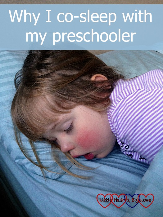 Why I co-sleep with my preschooler - Little Hearts, Big Love