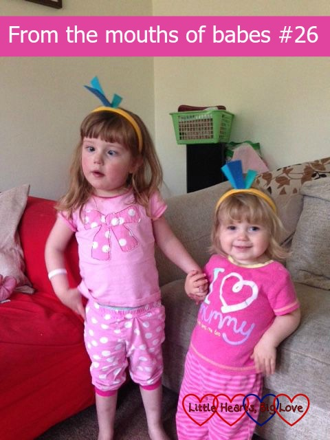 From the mouths of babes #26 - a linky to share the things that children say - Little Hearts, Big Love