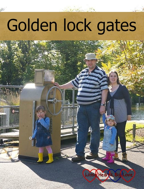 Golden lock gates - Little Hearts, Big Love