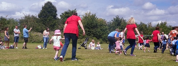 Jessica's first sports day - Little Hearts, Big Love