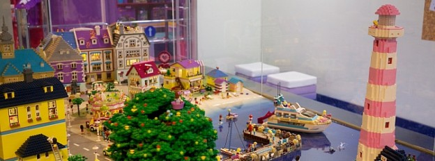 The Heartlake City model at Legoland