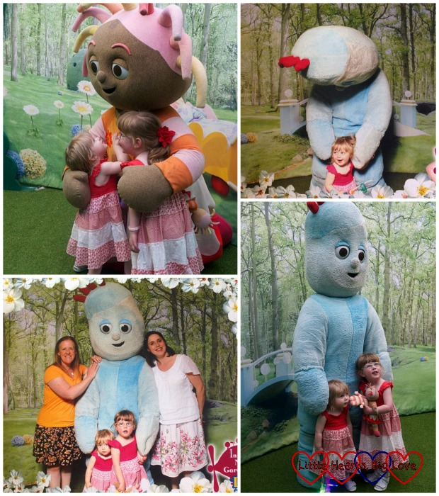 Meeting Upsy Daisy and Igglepiggle at In the Night Garden Live - Little Hearts, Big Love
