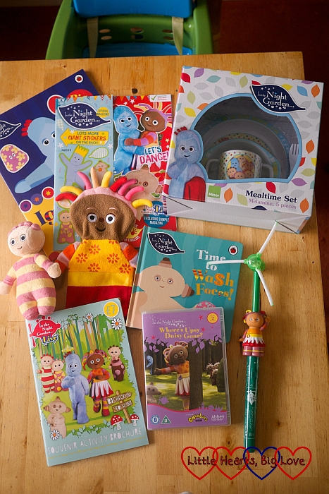 Goody bag from In the Night Garden Live - Little Hearts, Big Love