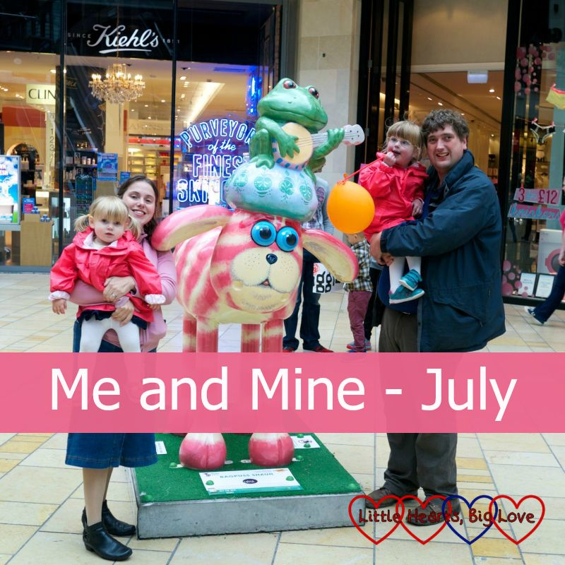 Me and Mine (July) - Little Hearts, Big Love
