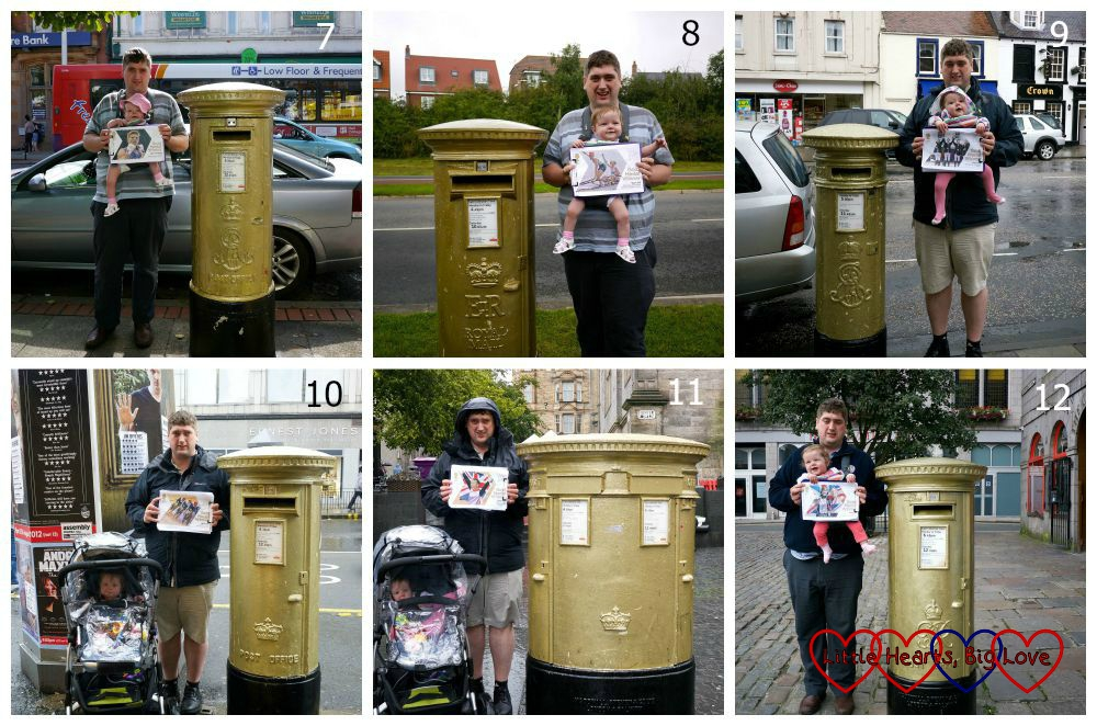 The Olympic Gold Postbox Challenge - Little Hearts, Big Love