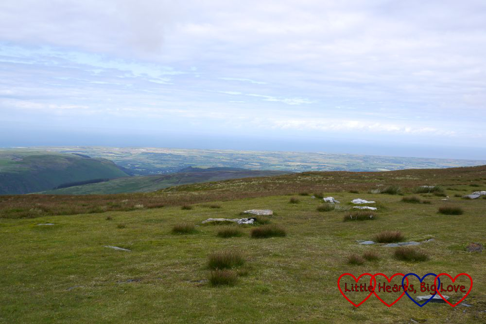 The view from the top of Snaefell - What I'm thankful for this week 26/07/15 - Little Hearts, Big Love