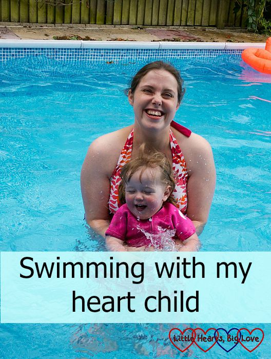 Swimming with my heart child - Little Hearts, Big Love