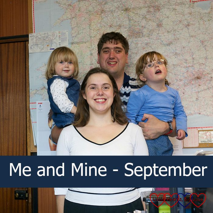 Me and Mine (September) - Little Hearts, Big Love