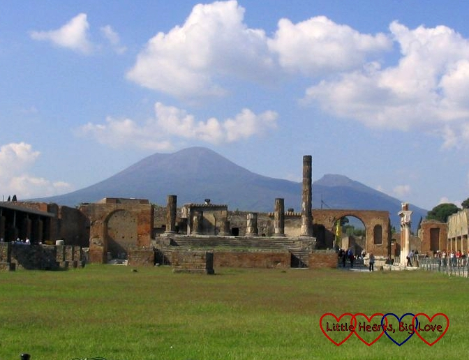 Visiting Pompeii - Sisterhood of the World Bloggers Award - Little Hearts, Big Love