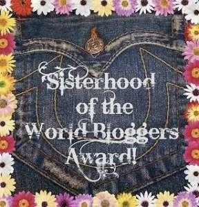 Sisterhood of the World Bloggers Award - Little Hearts, Big Love