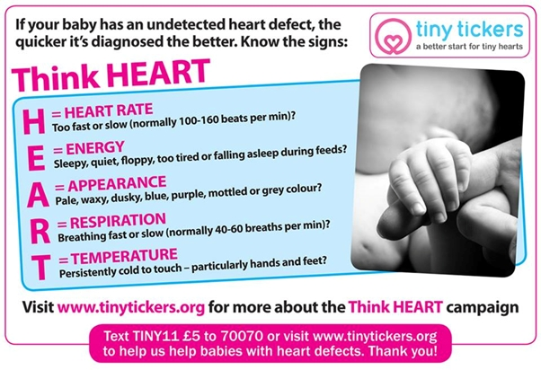 THINK HEART - the 5 signs of a heart problem - Two Important Ways to Give Your Baby's Heart a Better Start - a guest post from Aimee Foster - Little Hearts, Big Love