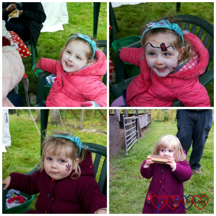 Face-painting and fudge - Outdoor fun at Apple Day - Little Hearts, Big Love