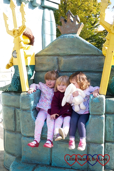Three cousins enjoying a day out at Legoland -The Friday Focus 02/10/15 - Little Hearts, Big Love