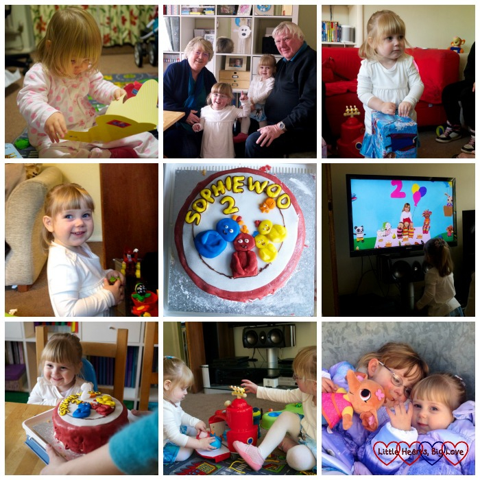 Sophie's 2nd birthday - The Friday Focus 30/10/15 - Little Hearts, Big Love