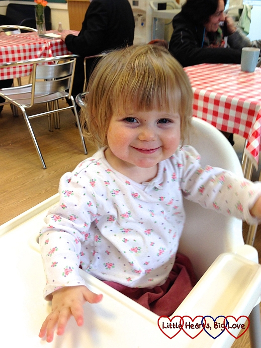 To Sophie on her 2nd birthday - Little Hearts, Big Love
