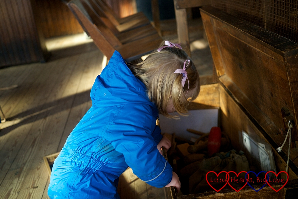 Toys and games in the Thame Vicarage Room - An autumn walk at Chiltern Open Air Museum - Little Hearts, Big Love