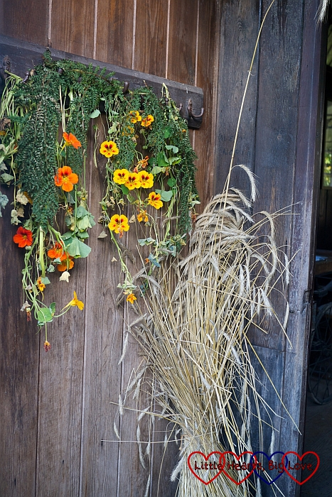 Harvest decorations - An autumn walk at Chiltern Open Air Museum - Little Hearts, Big Love