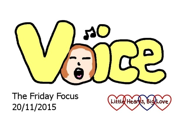 Voice - this week's word of the week