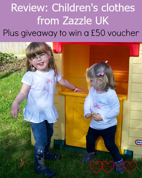 Review: Children's clothes from Zazzle UK – plus giveaway to win a £50 voucher - Little Hearts, Big Love