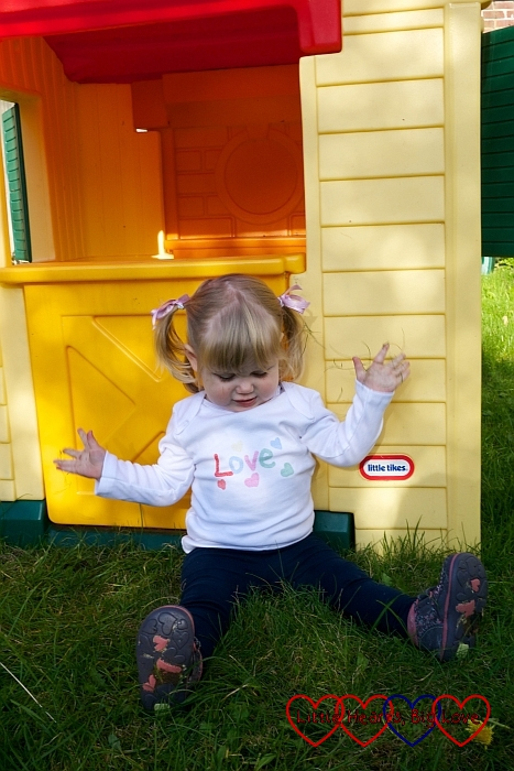Love Hearts top - Review: Children's clothes from Zazzle UK – plus giveaway to win a £50 voucher - Little Hearts, Big Love