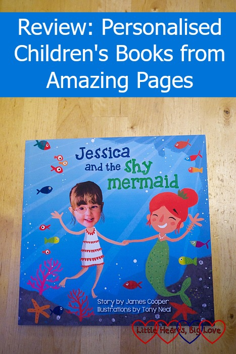 Review - Amazing Pages personalised children's books - Little Hearts, Big Love