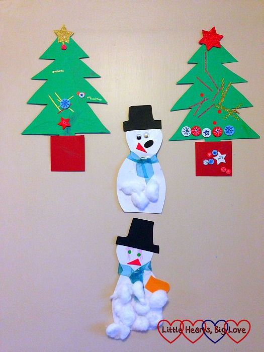 Christmas crafts with the children - The Friday Focus 11/12/15 - Little Hearts, Big Love