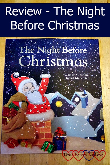 Review - The Night Before Christmas (Parragon Books) - Little Hearts, Big Love