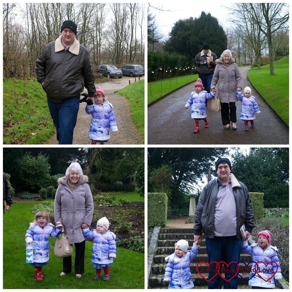 Exploring the grounds - A day out at Uppark House - Little Hearts, Big Love