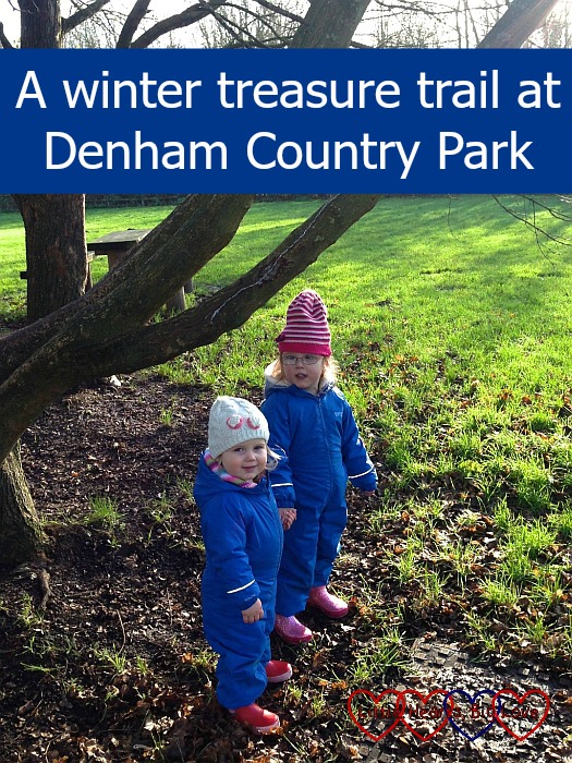A winter treasure trail at Denham Country Park - Little Hearts, Big Love