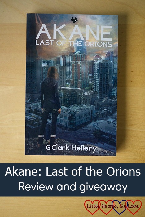 Akane: Last of the Orions - review and giveaway - Little Hearts, Big Love