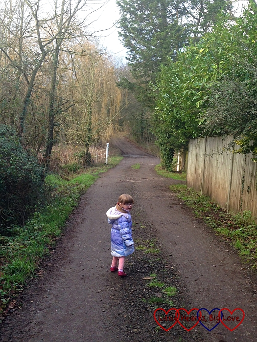 Exploring a country lane - The Friday Focus 08/01/16 - Little Hearts, Big Love