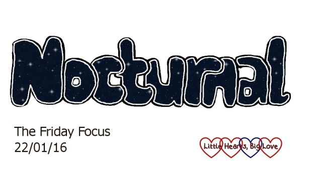 Nocturnal - this week's word of the week: The Friday Focus 22/01/16 - Little Hearts, Big Love