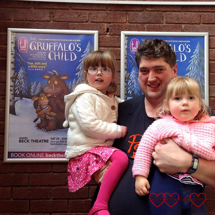 Seeing the Gruffalo's Child - The Friday Focus 29/01/16 - Little Hearts, Big Love