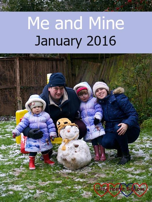 Me and Mine - January 2016 - Little Hearts, Big Love