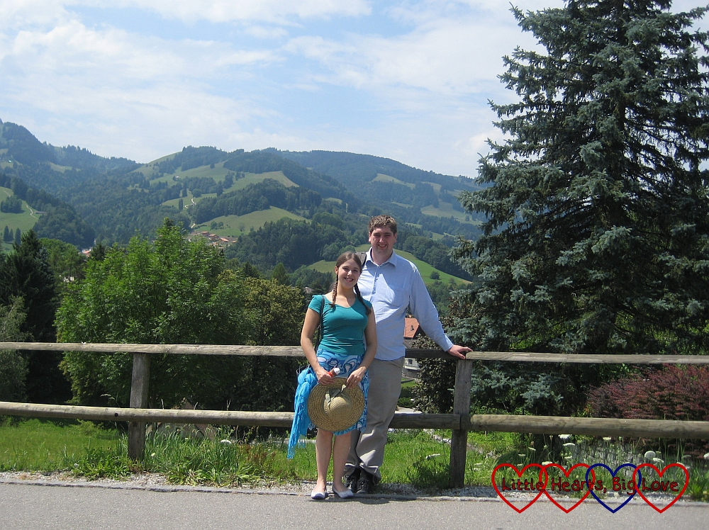 Our honeymoon in Switzerland - Sisterhood of the World Award - Little Hearts, Big Love