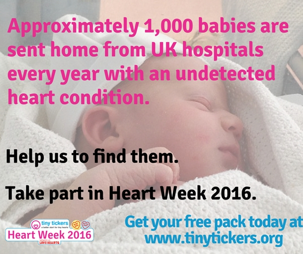 Heart Week 2016: help Tiny Tickers improve survival rates for heart babies - Little Hearts, Big Love