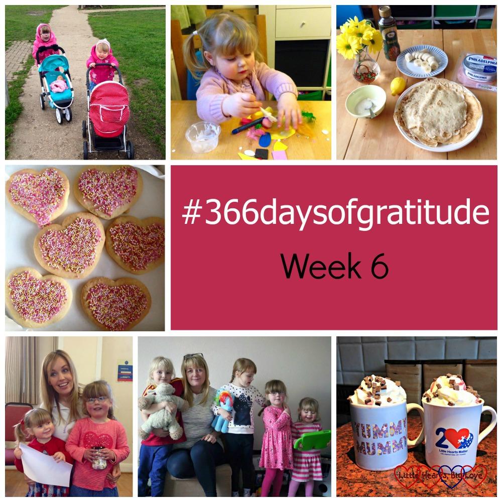 #366daysofgratitude - Week 6 - Little Hearts, Big Love