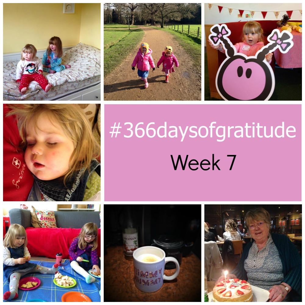 #366daysofgratitude - Week 7 - Little Hearts, Big Love