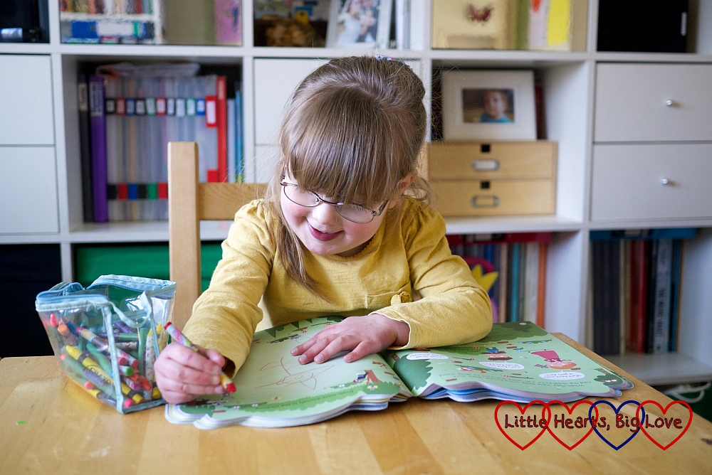 Review - My Giant Fairy Tale Activity Book - Little Hearts