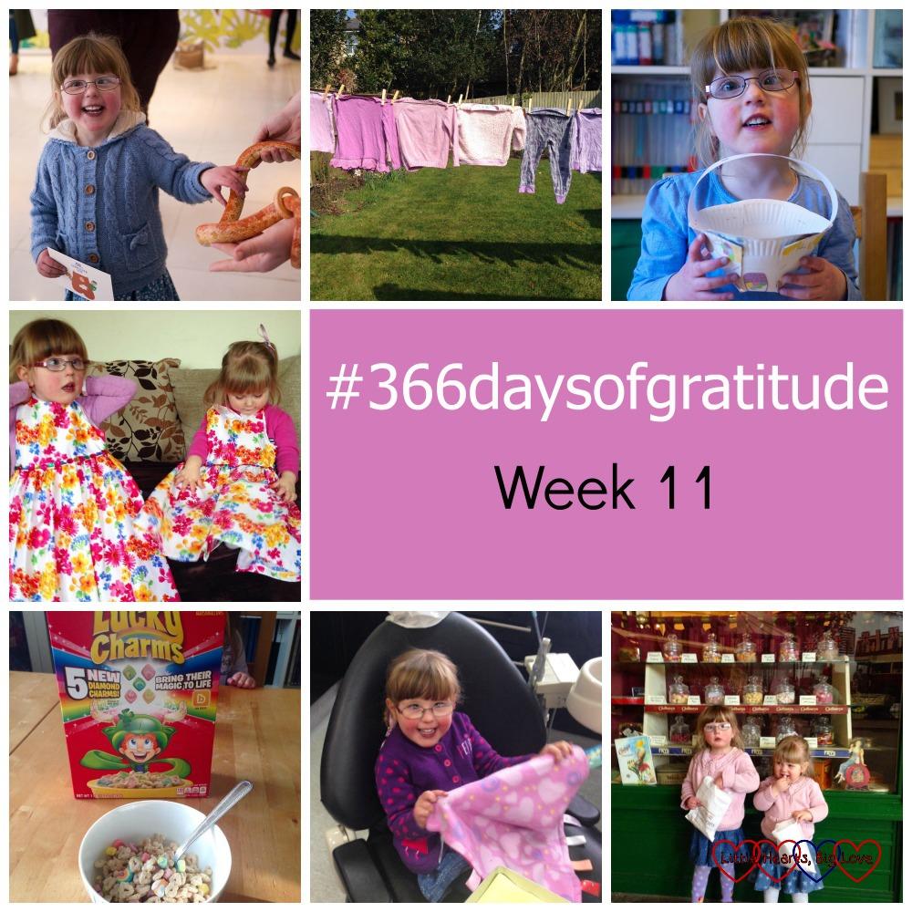 #366daysofgratitude - Week 11 - Little Hearts, Big Love