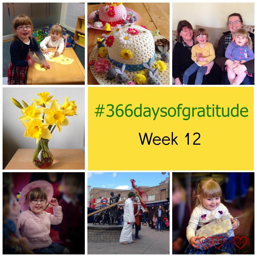 #366daysofgratitude - Week 12 - Little Hearts, Big Love