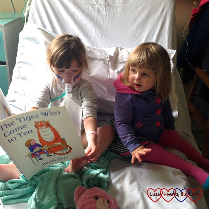 From the mouths of babes #61 - A stay in hospital - Little Hearts, Big Love