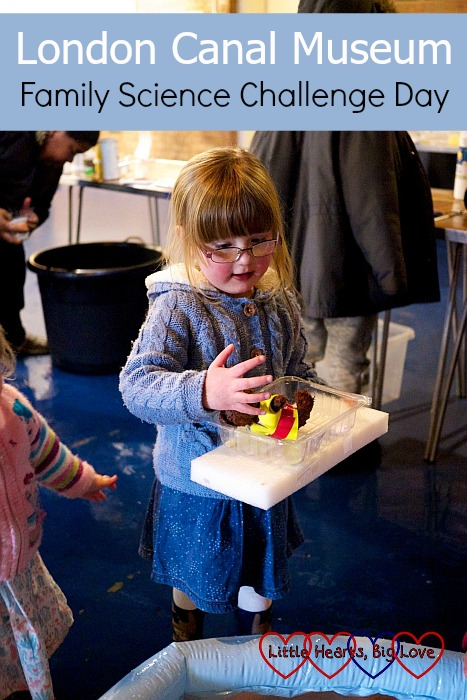 London Canal Museum Family Science Challenge Day - Little Hearts, Big Love