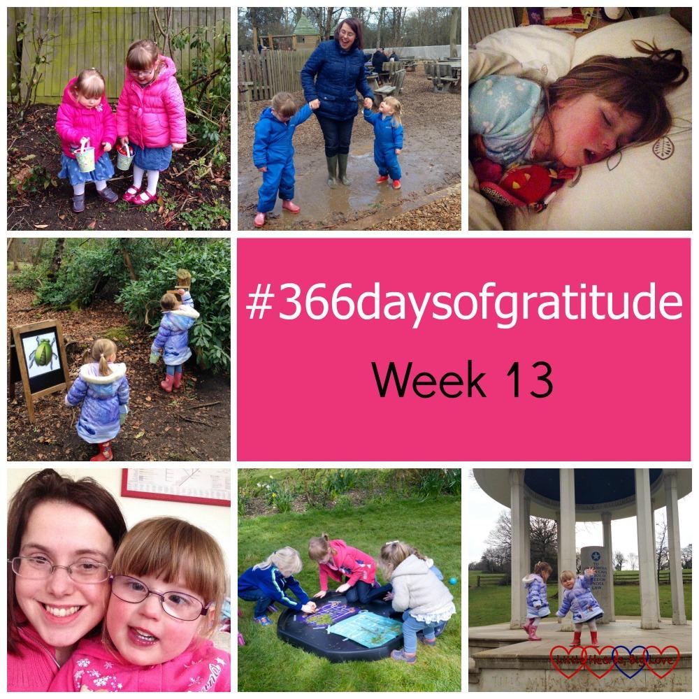#366daysofgratitude - Week 13 - Little Hearts, Big Love