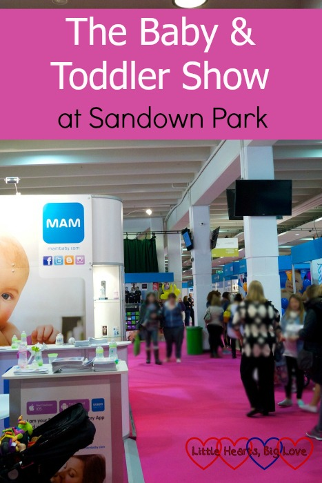 We recently attended the Baby & Toddler Show at Sandown Park - here's what we thought about it