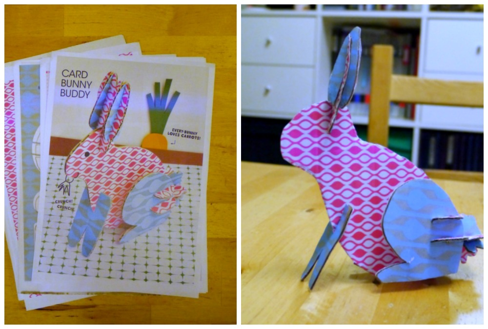 #MakeItByTheBook Easter bunny - Review - Disney Princess and Frozen Art Therapy colouring books - Little Hearts, Big Love