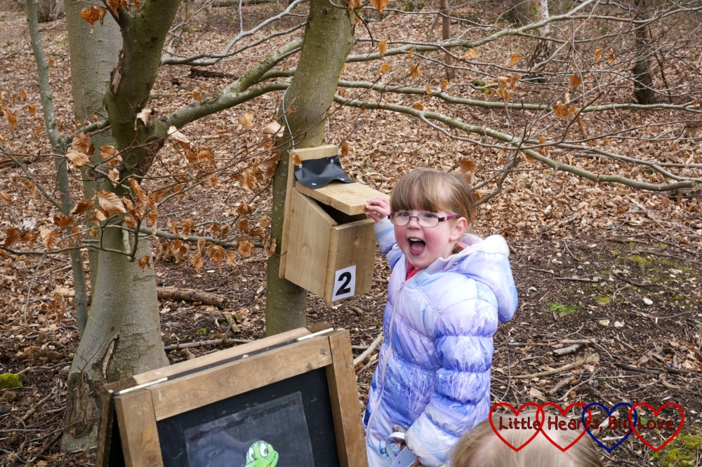 On the Easter trail at Black Park - The Friday Focus 01/04/16 - Little Hearts, Big Love
