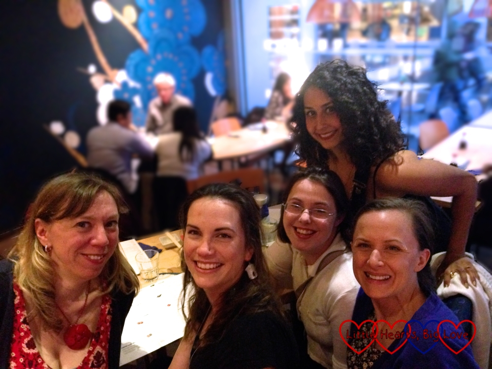 A fun night out with fabulous bloggers - And Then The Fun Began, Le Coin de Mel, Free Range Chick and Mummy Tries