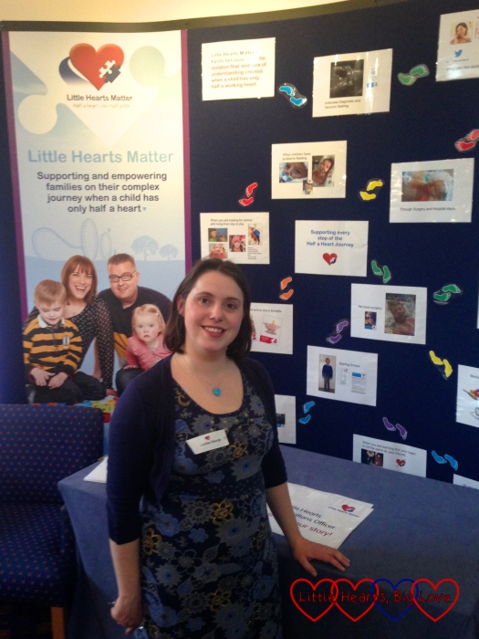 Meeting other heart families at the Little Hearts Matter open day
