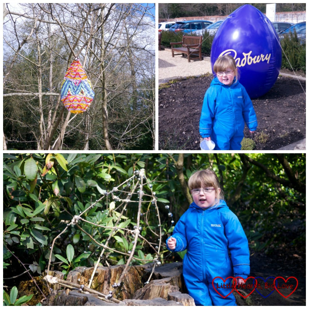 The start of the trail - Hunting for Easter eggs at Cliveden - Little Hearts, Big Love